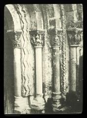Eglise Saint-Christophe - Français:   Courpiac église portail (Brutails)