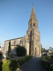 Eglise Saint-Cibard - English: Coutures église Saint-Cibard