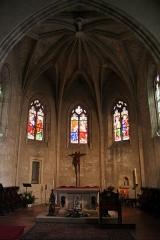 Eglise Notre-Dame -  Eglise Notre-Dame de Créon (33)   15th century date QS:P,+1450-00-00T00:00:00Z/7,16th century date QS:P,+1550-00-00T00:00:00Z/7    Choir
