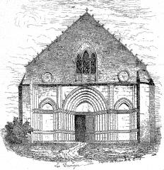 Eglise Notre-Dame - English: Abbey of Guîtres (Gironde, France)