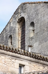 Eglise Notre-Dame - Français:   Guîtres - Ancienne abbatiale Notre-Dame Détail transept Sud