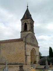 Eglise Saint-Martin - Français:   Église Saint-Martin de Lados, Gironde, France