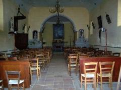 Eglise Saint-Martin - Français:   Nef de l\'église Saint-Martin de Lados, Gironde, France