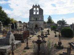 Eglise Saint-Jean - English: Church Saint Jean-Baptiste in Lalande de Pomerol, France