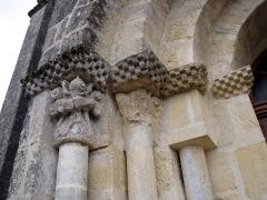 Eglise Saint-Pierre - English: Martres St Pierre portail
