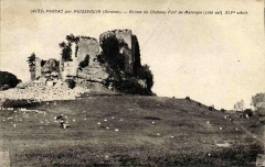 Ruines du château de Malengin - French photographer and editor