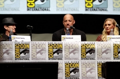 Reposoir -  David Twohy, Vin Diesel and Katee Sackhoff speaking at the 2013 San Diego Comic Con International, for