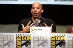 Reposoir -  Vin Diesel speaking at the 2013 San Diego Comic Con International, for