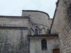 Eglise Saint-Vincent - English: Église Saint-Martin du Nizan