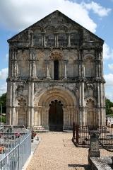 Eglise Saint-Pierre -  Eglise Saint-Pierre de Petit-Palais-et-Cornemps (33)    13th century date QS:P,+1250-00-00T00:00:00Z/7, 18th century date QS:P,+1750-00-00T00:00:00Z/7, 19th century date QS:P,+1850-00-00T00:00:00Z/7