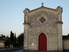 Eglise Saint-Seurin - Français:   Façade de l\'église du Pian-Médoc (Gironde, France)