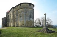 Eglise Saint-Pierre - Deutsch: Kirche Saint-Pierre in Pujols (Gironde) im Département Gironde (Région Aquitaine/Frankreich), Ansicht von Osten