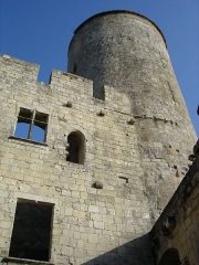 Château de Rauzan -  donjon de Rauzan