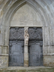 Eglise Saint-Pierre - English: La Réole (Gironde, FR) church entrance