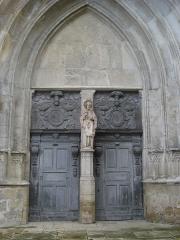 Eglise Saint-Pierre - English: La Réole (Gironde, FR) church entrance