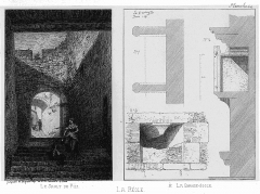Vestiges de l'enceinte - French historian, archaeologist and engraver