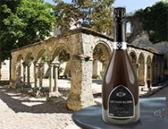 Ancien couvent des Cordeliers - English: Crémant de Bordeaux Blanc Brut LES CORDELIERS