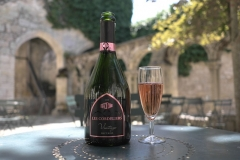 Ancien couvent des Cordeliers - Français:   bouteille de crémant de bordeaux