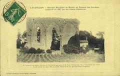 Ancienne église du couvent des Dominicains, dit des Jacobins - Français:   Saint-Emilion sur carte-postale