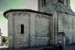 Ancienne église Saint-Martin de Mazerat - Français:   Abside