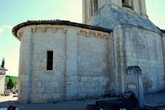 Ancienne église Saint-Martin de Mazerat - Français:   St Emilion église St Martin de Mazerat