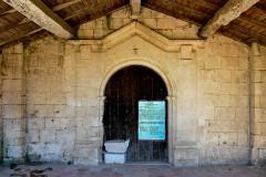 Ancienne église Saint-Martin de Mazerat - Français:   Portail