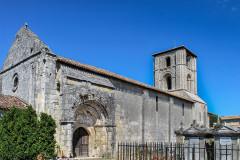 Ancienne église Saint-Martin de Mazerat - Français:   Vue générale