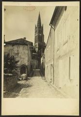 Eglise souterraine monolithe (ancienne église paroissiale Saint-Emilion) -