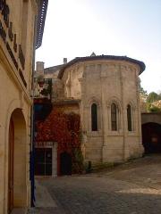 Ermitage ou Chapelle de la Trinité - Français:   Monument de Saint-Emilion, XIIIème siécle
