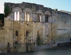 Ancien Palais des Archevêques ou Palais Cardinal - Français:   Ancien Palais Cardinal, à l\'entrée de la ville de Saint-Émilion.