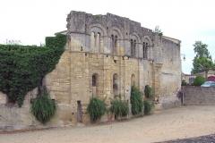 Ancien Palais des Archevêques ou Palais Cardinal - Lëtzebuergesch: Saint-Émilion Ruinemauer