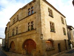 Maison du 15e siècle - Français:   Saint-Macaire - Hôtel