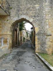 Enceinte fortifiée de la Ville -  Saint-Macaire, Gironde, France