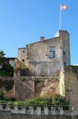 Enceinte fortifiée de la Ville - Français:   Château de Tardes à Saint-Macaire (Gironde, France)