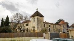 Château de Gajac - English: Château la Mothe-Gajac