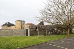 Château de Gajac - English: Blockhaus et château de Gajac
