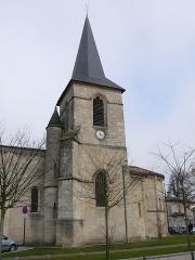 Eglise - English: Saint-Médard's church of Saint-Médard-en-Jalles (Gironde, France).