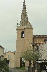 Eglise - Occitan: Glèisa de Sent Miquèu de Riufred despuish lo riu.