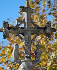 Croix de cimetière - Français:   Croix cimetière Saint Sulpice-et-Cameyrac