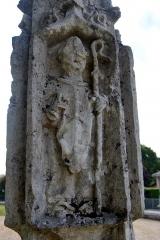 Croix de cimetière - Français:   Croix de cimetière du XVI siècle