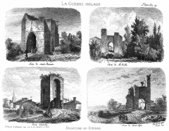 Anciennes portes de la ville - English: City gates of Sauveterre-de-Guyenne (Gironde, France)