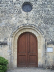 Eglise Saint-Genès - Français:   Église Saint-Genès de Soulignac (Gironde, France)