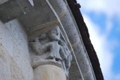 Eglise Saint-Romain - Français:   Église Saint-Romain de Targon (Gironde)