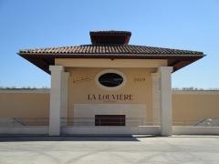 Château La Louvière - English: Part of the winery building of Château La Louvière