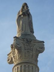 Statue de la Vierge - English: Statue of Saint-Yzans-de-Médoc, Gironde, France