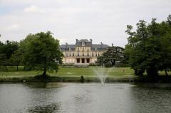 Château Bourran - English: Bourran Park, Merignac