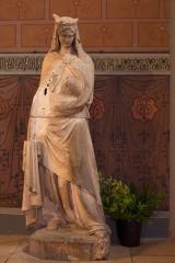 Ancienne cathédrale Saint-Jean-Baptiste - English: Cathédrale Saint-Jean-Baptiste; Aire sur l'Adour, Landes, Aquitaine, France;; ref: PM_094359_F_Aire_sur_lAdour;; Photographer: Paul M.R. Maeyaert; www.pmrmaeyaert.eu; © Paul M.R. Maeyaert; pmrmaeyaert@gmail.com; Cultural heritage; Cultural heritage/Cathedral; Cultural heritage/Sculpture; Europeana; Europe/France/Aire sur l'Adour;