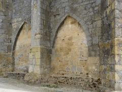 Eglise Saint-Martin -  Arcades de la tour de l'église Saint-Martin de Caupenne