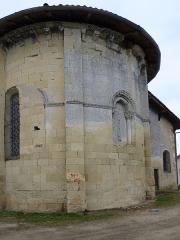 Eglise Saint-Martin -  Chevet de l'église Saint-Martin de Caupenne