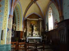 Eglise Saint-Martin -  Collatéral droit de l'église Saint-Martin de Caupenne